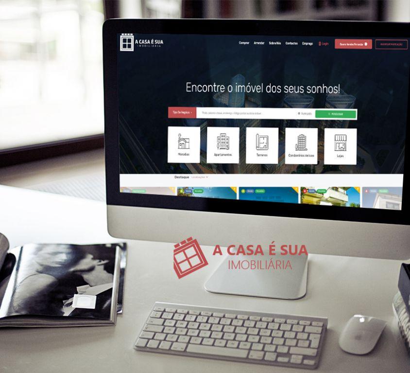 Web Site / CRM A Casa é Sua