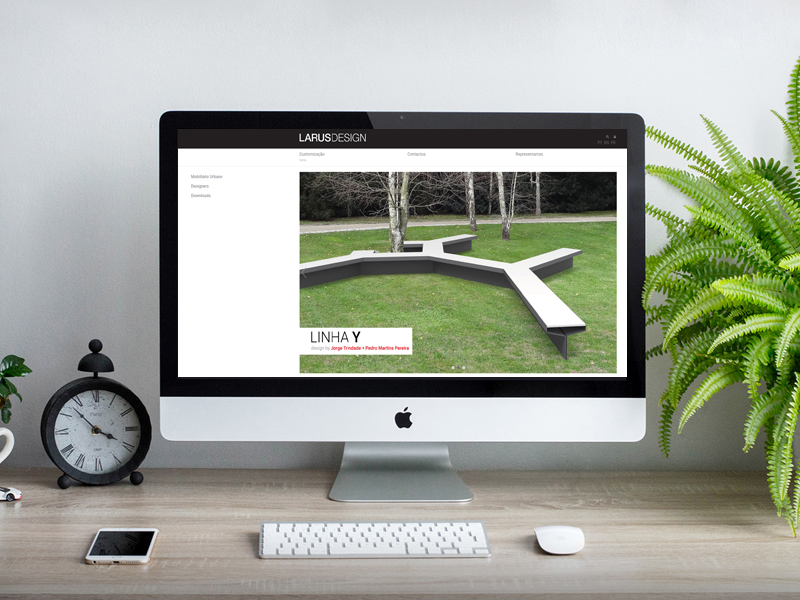 Web Site Larus Design