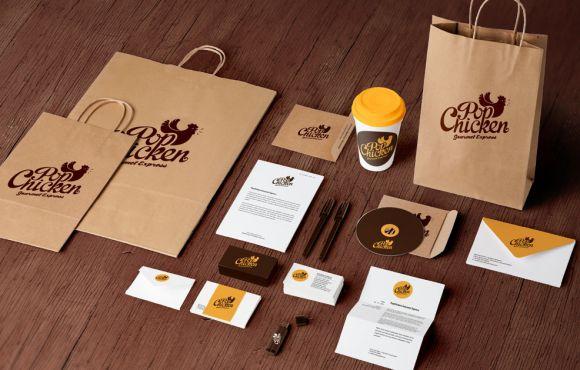 Advertising & Branding POP Chicken