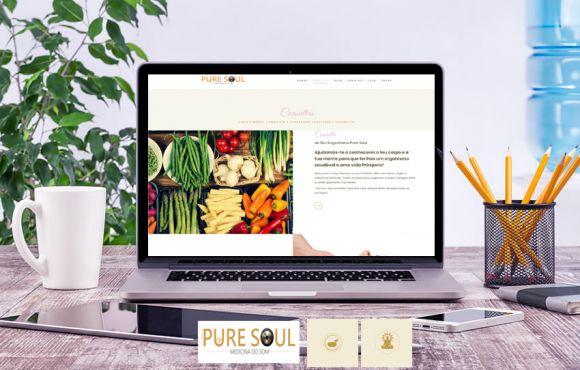 Web Site Clinica Pure Soul