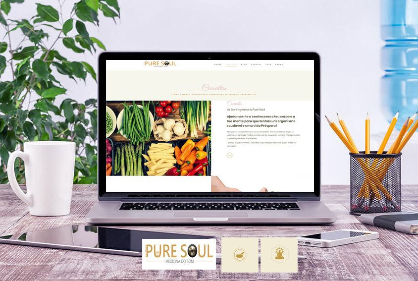 Web Site Clinica Pure Soul