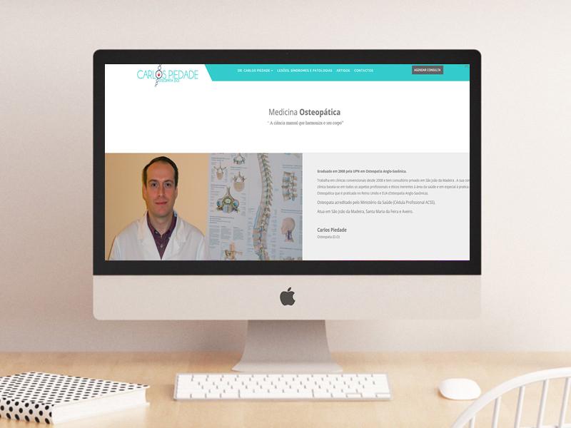 Web Site Carlos Piedade