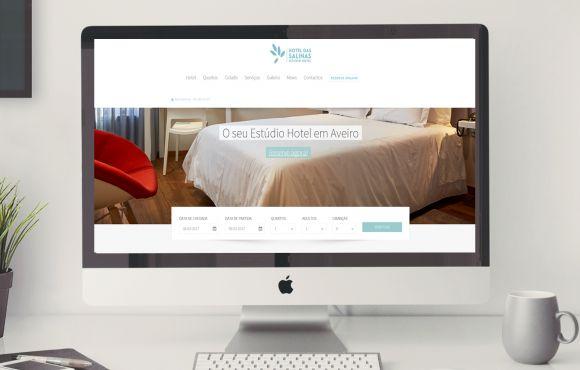 Web Site Hotel das Salinas