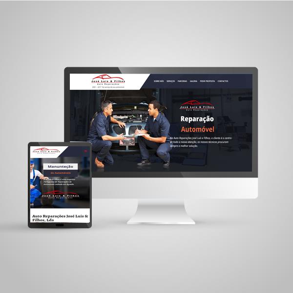Web Site Auto Reparações